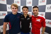GP3 Foto's - Top-drie: Nyck De Vries, ART Grand Prix; Matthew Parry, Koiranen GP; Antonio Fuoco, Trident