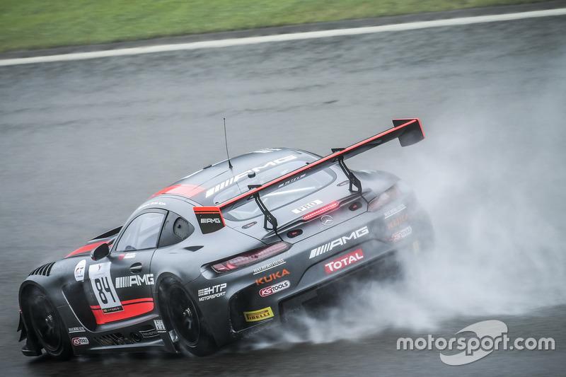 4. #84 HTP Motorsport, Mercedes-AMG GT3: Dominik Baumann, Jazeman Jaafar, Maximilian Buhk