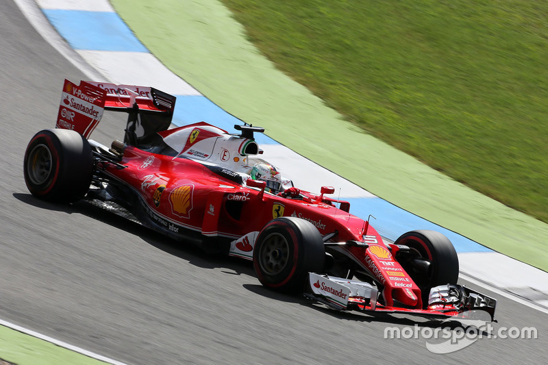 6. Sebastian Vettel, Scuderia Ferrari