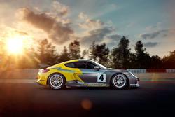 Presentation Porsche Cayman GT4 Clubsport Manthey Racing