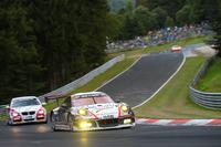 VLN Photos - Georg Weiss, Oliver Kainz, Jochen Krumbach, Mike Stursberg, Porsche 911 GT3 R