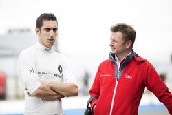 Sébastien Buemi, Renault e.Dams with Allan McNish