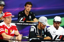 Jolyon Palmer, Renault Sport F1 Team in der FIA Pressekonferenz