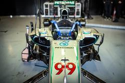 Jorge Lorenzo Mercedes AMG F1 test