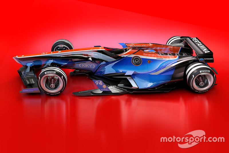 Designstudie für 2030: Manor Racing
