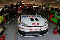 Tony Stewart's garage