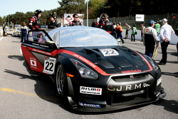 #22 JR Motorsports Nissan GT-R: Peter Dumbreck, Richard Westbrook