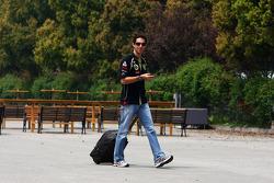 Bruno Senna, test driver, Renault F1 Team