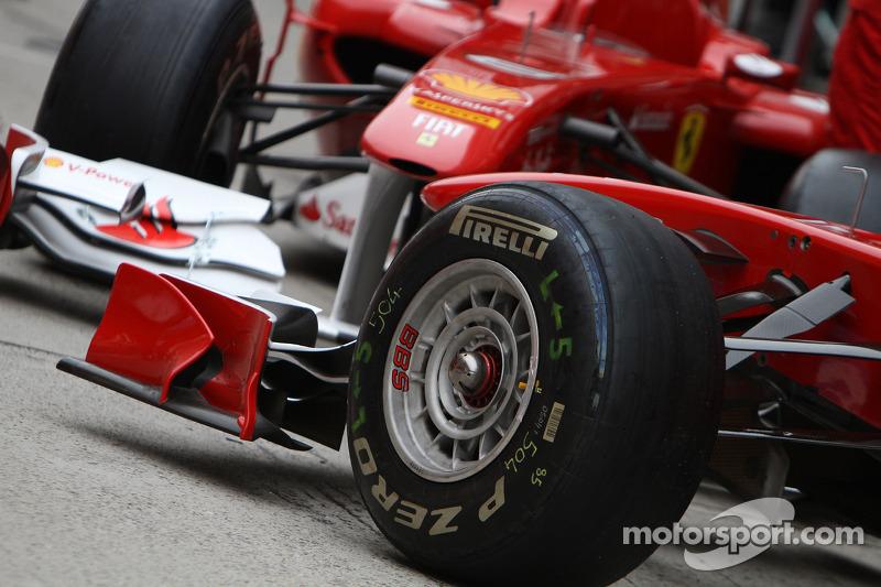Scuderia Ferrari, Pirelli tyres