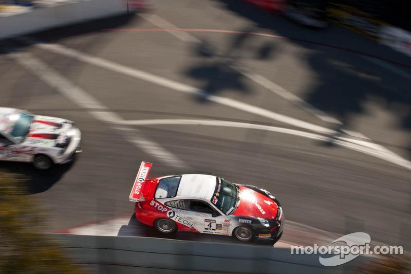 Imsa Long Beach Ferrari Crash