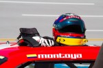 Helmet of Juan Pablo Montoya, Earnhardt Ganassi Racing Chevrolet
