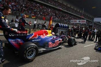 Red Bull was very successful so far this season