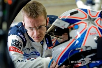 Sébastien Bourdais and Anthony Davidson