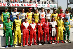 Family picture for the 2005 Champ Car World Series drivers