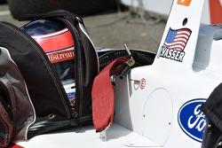 Jimmy Vasser's helmet