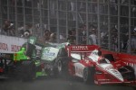 Trouble for Danica Patrick, Andretti Autosport, Simona de Silvestro, HVM Racing, Helio Castroneves, Team Penske