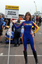 Andrew Jordan, Pirtek Racing Grid girl
