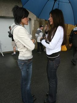 Bronte Tagliani and Patti Tracy