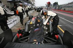 CTE Racing HVM crew member at work
