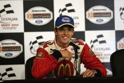 Sébastien Bourdais at the post race press conference