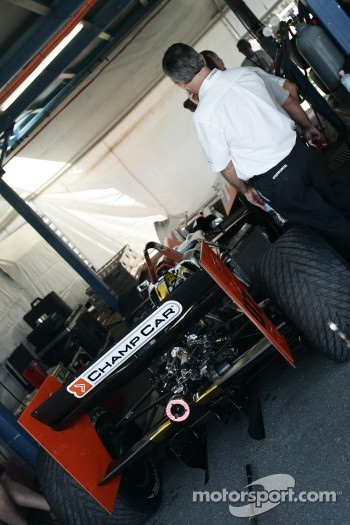 The 2007 DP01 Champ Car