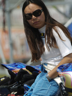 Forsythe Racing crew member