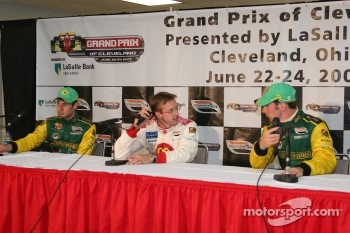 Will Power, Sébastien Bourdais and Simon Pagenaud
