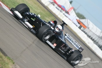 Mario Andretti drives the Minardi F1X2