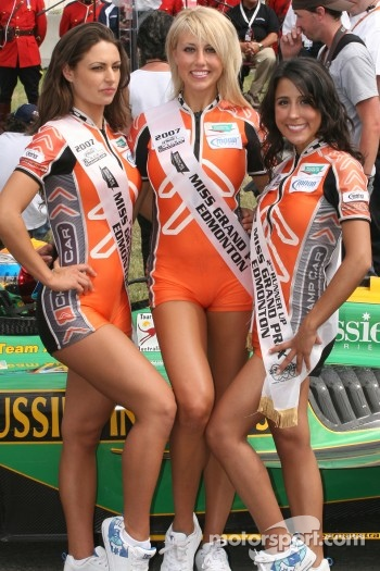 The Miss Grand Prix of Edmonton and her runner-ups