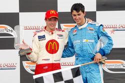 Winner Sébastien Bourdais and second place Graham Rahal