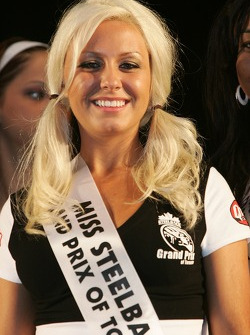 Street party: a charming contestant for the Miss Grand Prix of Toronto