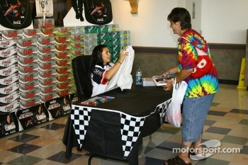 Autograph session for Danica Patrick