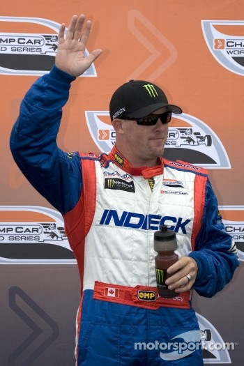 Meet the driver: Paul Tracy