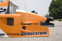 Noise cone for the two seater Champ Car