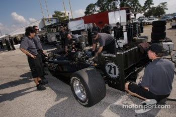 PKV Racing team members at work