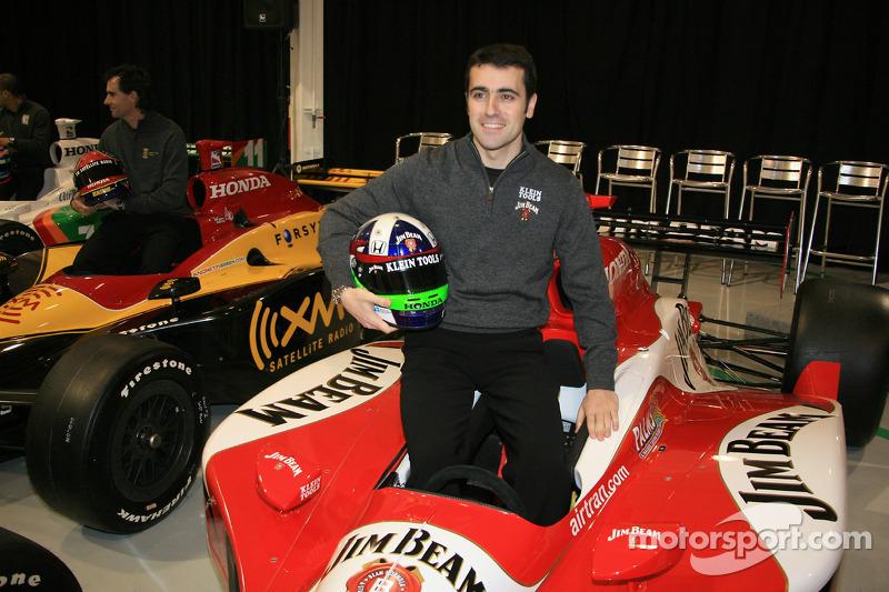 达里奥·弗兰奇蒂和他2006年所驾驶的安德雷蒂赛车