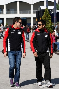 Robert Wickens, Sakon Yamamoto