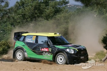 Daniel Oliveira and Carlos Magalhaes, Mini John Cooper Works, MINI WRC Team