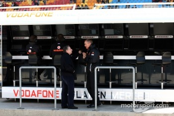 Jean Todt, FIA president, Martin Whitmarsh, McLaren, Chief Executive Officer