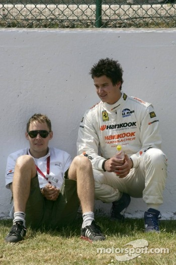 Allan Simonsen and Dominik Farnbacher