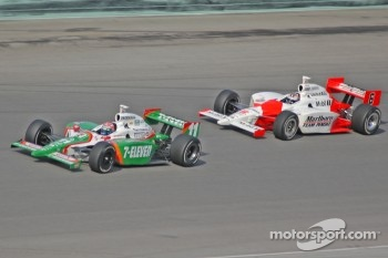 Tony Kanaan and Sam Hornish Jr.