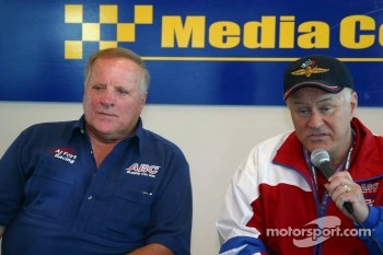 A.J. Foyt - ABC Supply press conference: A.J. Foyt and ABC Supply CEO Ken Hendricks
