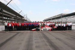The entire Andretti-Green racing team