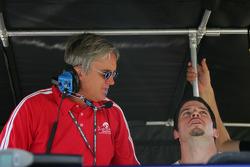 Eddie Cheever and Patrick Carpentier