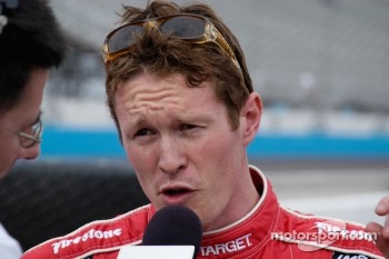 Scott Dixon tells about his run