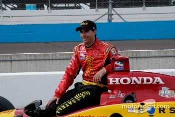 Pole winner Bryan Herta