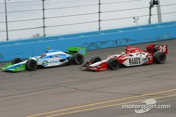 Paul Dana and Dan Wheldon
