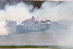 Burn out for Dan Wheldon