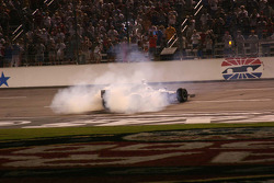 Burn out for Tomas Scheckter