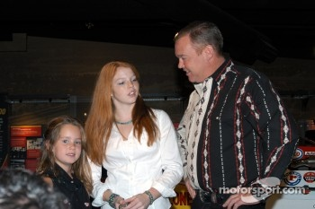 Loni, Shannon and Al Unser, Jr.